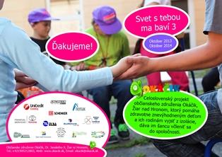 Bulletin OZ Okacik - Svet s tebou ma bavi 2013-2014