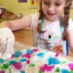 Maľujeme hodváb